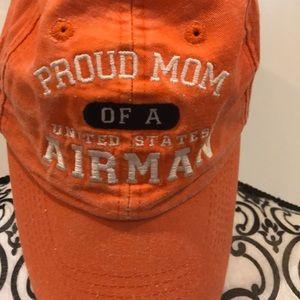 PROUD MOM AIRMAN BASEBALL HAT